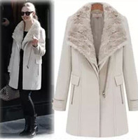 Where to Buy Womens Black Fur Collar Coat Online? Where Can I Buy