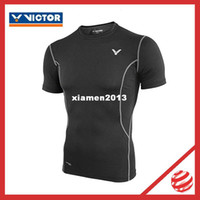 Wholesale Victor badminton suit Victor Tight protection series close fitting clothes Victor SP201