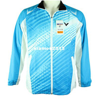 Wholesale Men Badminton Jacket Victor World Championships Badminton Jacket Victor J