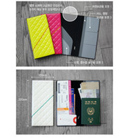 Wholesale long passport holder wallet id protect case