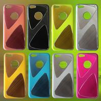 30pcs CPAM iPhone 5C del teléfono celular casos de proceso del metal del trefilado UV brillante revestimiento de PC Parte 1: 1 Casos para el iPhone Cases 5C
