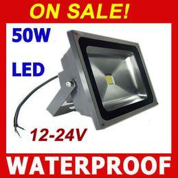High quality 50W 100W LED Flood lights 12V 24V 110V 220V outdoor light bowfishing Boat lighting DHL shipping