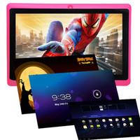 irulu android mid - iRuLu Q88 Inch Allwinner A23 Tablet PC Android Dual Camera GB MB Capacitive Screen WIFI MID Dual Core Kids Tablet For Christmas