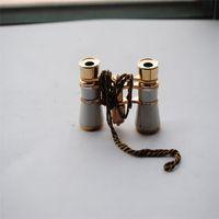 1~5 X opera binoculars - Ms gift X25 binoculars opera glasses binoculars metallization