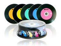 Wholesale discs High Quality A Blank Discs EMARK Black DVD R X GB MIN Blank DVDR DVD Recordable Disks