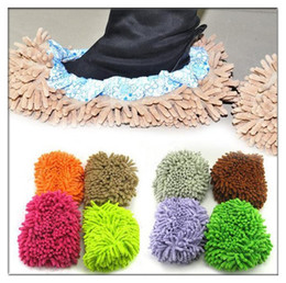 Wholesale Dust Cleaner House Bathroom Floor Cleaning Mop Cleaner Slipper Lazy Shoes Cover