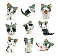 Wholesale Package Cute cheese cat dustproof plugy ear cap mm stopper for iphone ipad