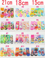 Wholesale Girls boy socks children cartoon socks sock cotton three size cm cm cm for years old pairs new