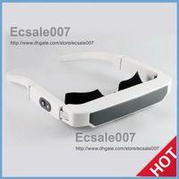 Wholesale Fashion New LOOKi Virtual Inch Widescreen Home Theater Audio Media Glasses Mobile Theatre Video Glass Free GB Memory Card