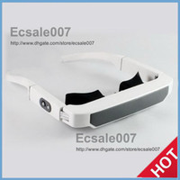 Wholesale Fashion New LOOKi Virtual Inch Widescreen Home Theater Audio Media Glasses Mobile Theatre Video Glass With Free GB Memory tf Card