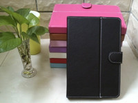 Wholesale Inch Colorful Universal PU Leather Cover Case Without Keyboard for quot Tablet PC MID Android Q88