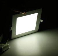 No 85-265V 2835 Led Downlight Lamp Panel Light Circular Led Ceiling Panel Light 18w White Warm White 85-265V Drop Shipping Free 1500LM