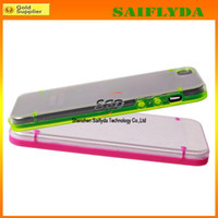 Wholesale Cheapest Iphone 5c Cases - Hard Shell Case for iPhone 5c Plastic Cover case Dual Color Glow at night case for new cheap iPhone 5c