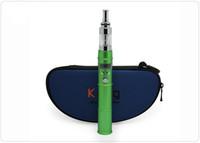 El más nuevo diseñado K201 cigarrillo electrónico ego kit con Atomizador Batería recargable para serie K Set E-Cigarrillo Variable Voltag kits