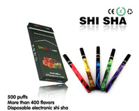 Electronic Cigarette e shisha Red ShiSha Time Hookah shisha pen with diamond tip colorful and multi flavor electronic Cigarettes shisha sticks 500 puff