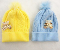 Boy Winter Newborn Hat MY841 factory direct baby baby cashmere wool knitting yarn soft and comfortable fit 1-3 years old hat