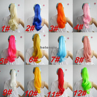 Wholesale Can roll horsetail styling Philippines color color ponytail bundled DS singers horsetail color