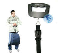 Wholesale Piece New Kgx g Digital LCD Electronic Luggage Hanging Weight Scale Black