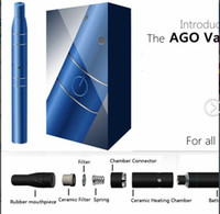 Electronic Cigarette plastic pipe - Ago Vaporizer G5 Vaporizer smoking pipe Pen Kit Electronic Cigarette Dry Herb vape click N vape sneak a LCD Display vapor metal pipe