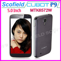 CUBOT 5.0 Android Cubot P9 5.0 INCH Android Cell Phone MTK6572W Dual Core 3G GPS 512MB RAM 4GB ROM 8.0MP Android 4.2