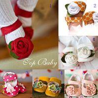 venda por atacado booties crochet bebê-Atacado - Crochet botas de neve bebê primeiro walker sapatas dos miúdos botas de inverno fios de algodão 0-12M costume 6/15/33 pares