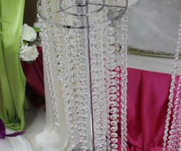 Venta al por mayor del grano de cristal acrílico Gemas de los filamentos centrales de la boda del árbol de Manzanita Crystlals guirnaldas de Navidad de la boda de los favores Decoraciones