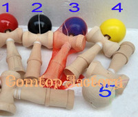 Wholesale Fedex Kendama Ball Japanese Traditional Wood Game Toy Education Gift big size