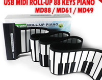 Wholesale The latest USB key MIDI roll up piano piano keyboard key keyboard