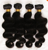 Body Wave Brazilian Hair machine Unprocessed Brazilian Virgin Remy Human Hair 4pcs bundle 100g pcs Body Wave Color 1b#