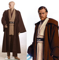 Wholesale Star Wars Obi Wan Kenobi Jedi TUNIC Costume New Version