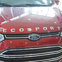 Wholesale 2012 Ford ECOSPORT D Metal car LOGO car stickers Emblem