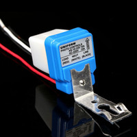 Wholesale 2013 New Arrival New Auto On Off Switch Photo electric Street Lighting Controller for DC AC V A amp