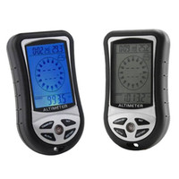 Wholesale 2013 New Arrival In Function Digital LCD Compass Altimeter Barometer Thermo Temperature amp