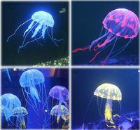 Wholesale New Arrival quot Glowing Effect Fish Tank Decoration Aquarium Artificial Jellyfish Ornament amp