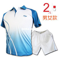 Wholesale High quality male badminton set female volleyball suit quick dry sports casual wear