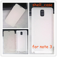 Leather For Samsung For Christmas Flip Leather PU Case Skin With Back Battery Cover Cases for Samsung GALAXY Note 3 N9000 N9005 Note3 With Retail Package Free Shipping