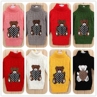 Wholesale new winter autumn summer infant baby sweater boy girl child sweater baby turtleneck sweater children outerwear