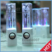 Wholesale 2013 Innovative ATake BWD TA Colorized Water Dance Dancing Fountain Speaker Speakers Subwoofer Sound Box for iPhone iPad iPod PC MP3