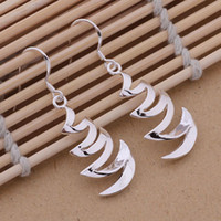 Wholesale Hot sale Charming New Design Silver Plated Jewelry Earrings AE426