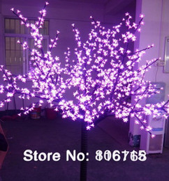 DHL Free Shipping Led cherry tree light, 1248LEDs , LED with cherry flowers led christmas tree light