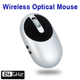 Wholesale 2 G Wireless Rechargeable Optical Mouse with Port USB Hub Charging Dock amp Retractable Cable For Desktop Laptop PC Silver C1749S Freeship