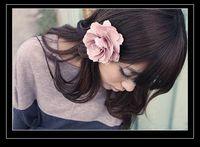 Barrettes silk flower hair clip - christmas hair clips common camellia rose flower hair clips Satin silk flowers hair clip Brooch