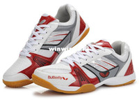 Wholesale Factory Direct latest butterfly table tennis shoes red UTTP