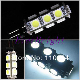 100pcs G4 light led replacement halogen lamp bulbs 12V   24v DC leding way lighting 13 smd 13 led bulbs