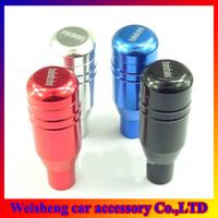 Wholesale MOMO Gear Shift Knobs Auto Shift Knobs Aluminum Alloy Gear Knob Manual Transmission Gear Shift Colors Optional