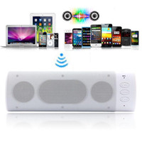 Wholesale 2013 New Arrival New Portable Rechargeable Bluetooth Stereo Speaker for iPhone G iPod Laptop PC amp