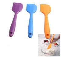 Plastic silicone spatula - Silicone Batter Spatula Scraper Cake Tool Kitchen Accessory Colors cm