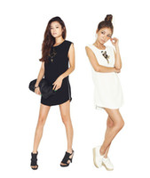 Strapless A Line other fashion2012 South Korea Shopping stylenanda beaded side zipper loose dress 1345 #