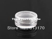 Wholesale 10g cream jar cream bottle cosmetic jar plastic jar Cosmetic Container