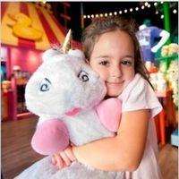 big cuddly toy - Despicable Me Fluffy Unicorn Plush Stuffed Pillow Toys Dolls Fluffy Plush Minion Soft Toy Stuffed Cuddly Teddy Doll Christmas gifts
